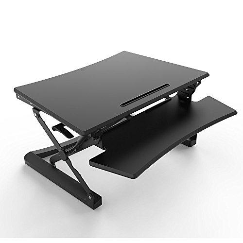 ERGONEER-vorkonfektionierter-Gesunde-Sitz-Steh-Erhebend-Computer-Arbeitsplatz-Ergonomie-Komfort-Tabletop-Stehpult-Converter-Hhenverstellbare-Desktop-Riser-mit-Squeeze-Griffe-89CM