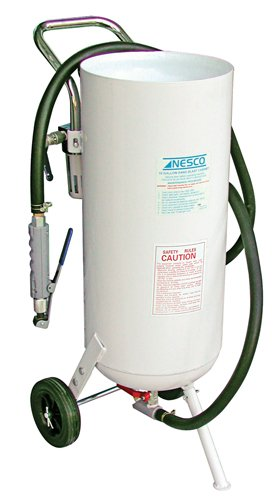 Nesco-Tools-410A-Portable-Pressure-Sandblaster-10-Gallon-Capacity