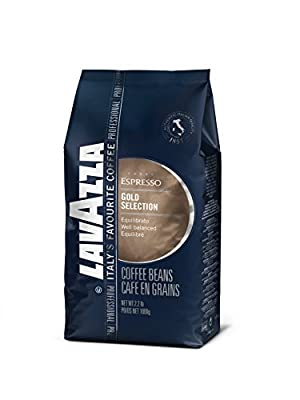 Lavazza Coffee Espresso Gold Selection, whole Beans, Pack of 6, 6 x 1000g by Luigi Lavazza S.p.A.