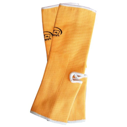 M NEON ORANGE MUAY THAI KICKBOXING MMA ANKLE SUPPORT ANKLETS