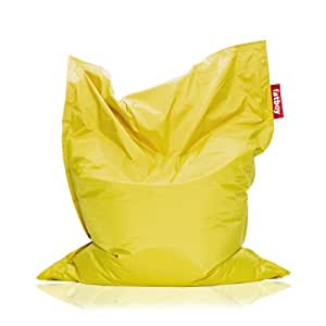 Fatboy the original bean bag yellow kitchen dining - Pouf exterieur fatboy ...