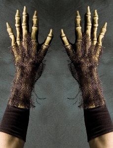 Zagone Studios Full Action Survivor Gloves (Zombie, Grim Reaper, Ghoul Gloves)