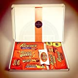 The Ultimate Reeses Mega Giant Gift Box By Moreton Gifts Peanut Butter Lover , Birthday , Thank you Box By Moreton Gifts