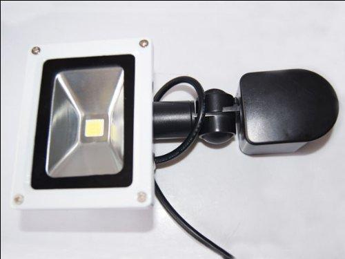 Generic -10W Pir Day Cool White Led Floodlight 85-265V Motion Sensor Day/Night Sensor