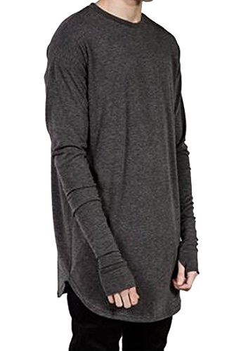 Mens Baggy Long-sleeved Gloved Tunic