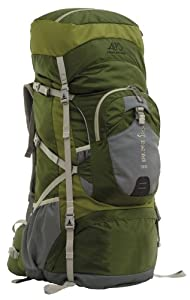 ALPS Mountaineering Red Tail 3900 Internal Frame Pack, Green by ALPS Mountaineering