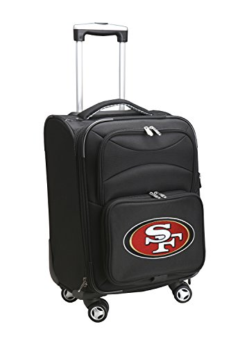 denco-sports-luggage-nfl-san-francisco-49ers-5080-20-domestic-trasporto-girandola-cm