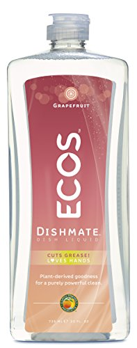 Earth Friendly Products Dishwashing Liquid, Natural Grapefruit, 25 Ounces (Dishwashing Liquid Grapefruit compare prices)