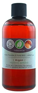 Huile d'Argan Vierge Pressée à Froid BIO - 100% Pure - Certifiée BIO - 100ml