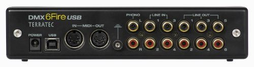 TerraTec SoundSystem DMX 6Fire External USB Sound Card 24 Bit 192 KHz in stock