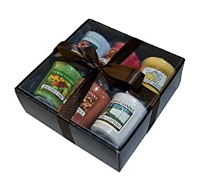 coffret luxe de 6 bougies parfum es et color es yankee candle id al pour un cadeau car emball. Black Bedroom Furniture Sets. Home Design Ideas