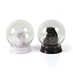 Gamago Snow Globe Salt and Pepper Shakers by Gama-Go