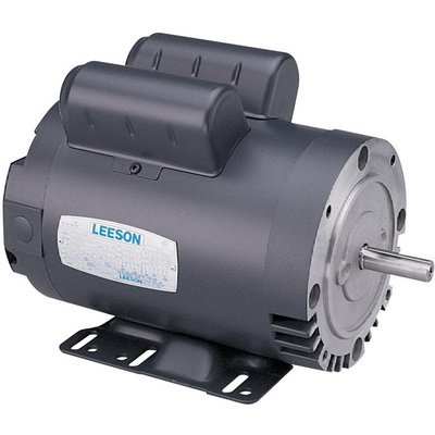Leeson Pressure Washer Pump Electric Motor - 2 Hp, 3450 Rpm, Model# 116509