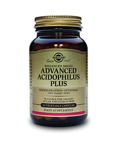 Solgar Acidophilus Bifido Integratore Alimentare per il Benessere Intestinale - 60 Capsule Vegetali