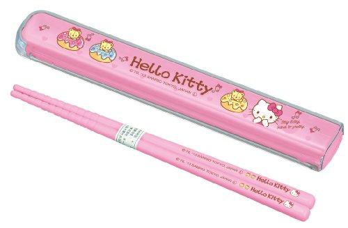 1 X [Hello Kitty]Pull lid chopstick set - 1