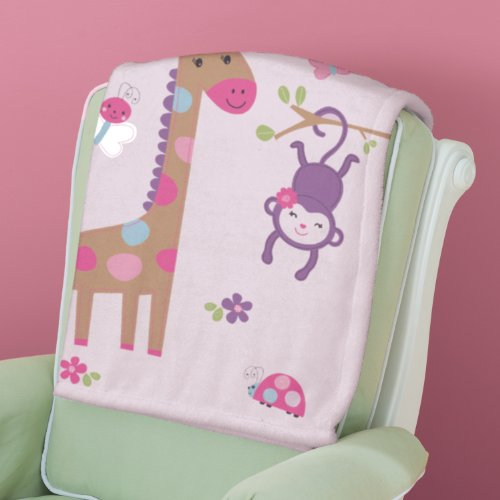 Summer Infant Luxury Plush Blanket, Pretty Pals