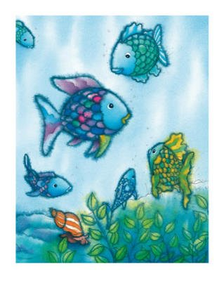 Marcus Pfister The Rainbow Fish VI Foil Art Print Poster - 16x20