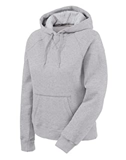 Champion Women's Eco Fleece Hoodie, Oxford Gray, Medium
