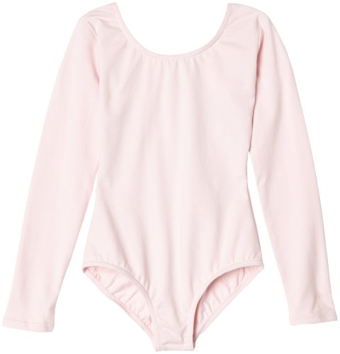 capezio-little-girls-classic-long-sleeve-leotard-pink-intermediate-6-8