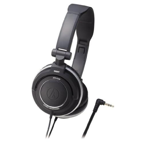 audio-technica ポータブルヘッドホン ATH-SJ55 blackの写真01。おしゃれなヘッドホンをおすすめ-HEADMAN(ヘッドマン)-