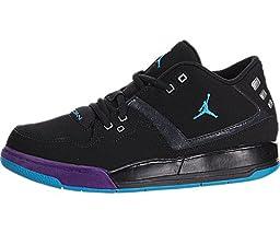 Nike Jordan Kids Jordan Flight 23 BP Blk/Bl Lgn/Brght Cncrd/Drk Gry Basketball Shoe 13.5 Kids US