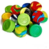 15 Ultimate Non Stick Silicone BHO Oil Wax Standard Jars + Pin