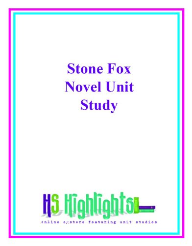 Stone Fox Book Review, Theme Unit, Lessons, Activities ...