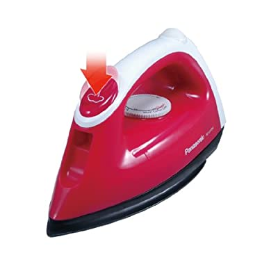 Panasonic NI-V100N 1000-1200 Watt Steam Iron (Pink)