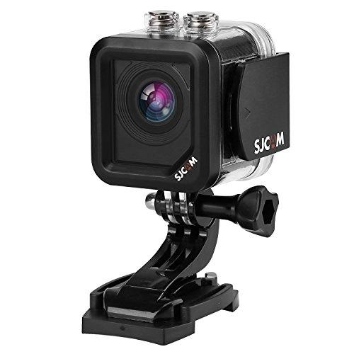 「SJCAM正規品」 SJCAM M10 Plus スポーツカメラ 超ミニ WiFi搭載 30m防水 170度広角レンズ 2K 1080P HD動画対応 1.5インチLCD  液晶画面 コンパクトカメラ(ブラック)