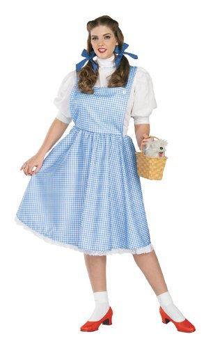 Adult's Wizard of Oz Dorothy Costume (Size:Plus Size 18-24)