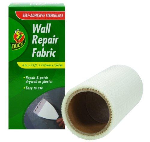duck-brand-282084-self-adhesive-drywall-repair-fabric-6-inch-by-25-feet-single-roll