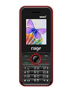 Rage Nano Plus Dual Sim Mobile-Black&yellow Colour