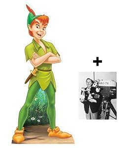 *FAN PACK* - Peter Pan (Disney) LIFESIZE CARDBOARD CUTOUT (STANDEE / STANDUP) - INCLUDES 8X10 (25X20CM) STAR PHOTO - FAN PACK #293