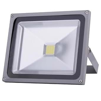 TOP IP65 Squre 50w LED Lampe Fluter kaltweiß Lampe Energiesparlamep 4950-4990 Lms Wandleuchter Außenstahler Flutlicht Scheinwerfer