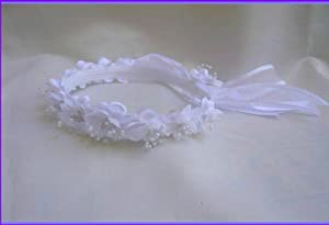 OneSize Flower Girl Headpiece