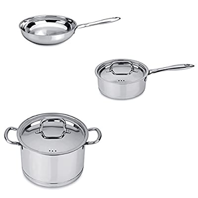 Berghoff CollectNCook Italian Stainless Steel Cookware Set (5 Pieces)