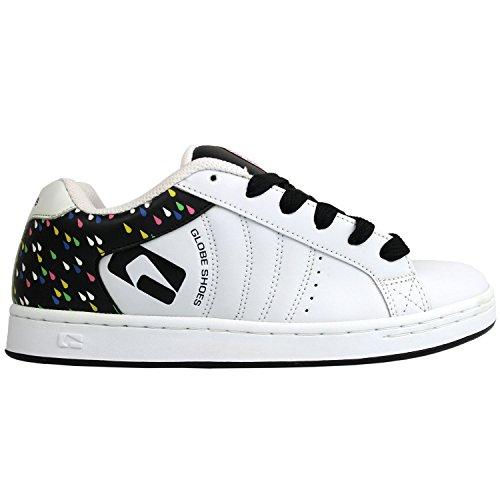 GLOBE Skatebord Womens Shoes WHITE/BLACK/RAIN Size 7