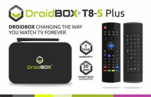 DroidBOX T8-S Plus - Android TV Box Reviews UK