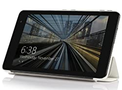 IVSO Dell Venue 8 Android Ultra Lightweight Slim Smart Cover Case-will only fit Dell Venue 8 Android Tablet (White...