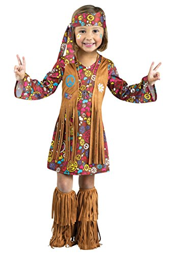 Peace and Love Hippie Toddler Costume