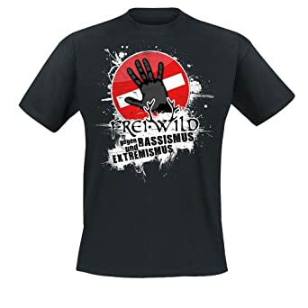 Frei.Wild - Farbe Zeigen T-Shirt, schwarz, Grösse S