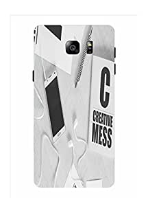 Bagsfull Designer Printed Matte Hard Back Cover Case For Samsung Galaxy Note 5