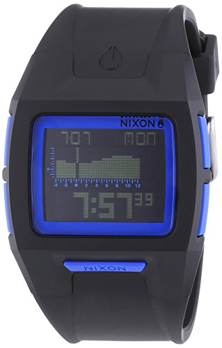 Nixon  - Reloj Digital de Cuarzo unisex, correa de Plástico color Negro