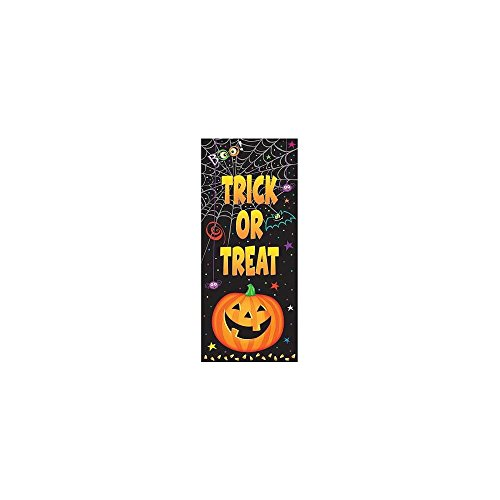 "Pumpkin Pals Halloween Door Poster, 60"" x 27"" - 1"