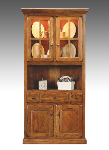 eagle furniture corner dining hutch buffet made in the usa fos sale