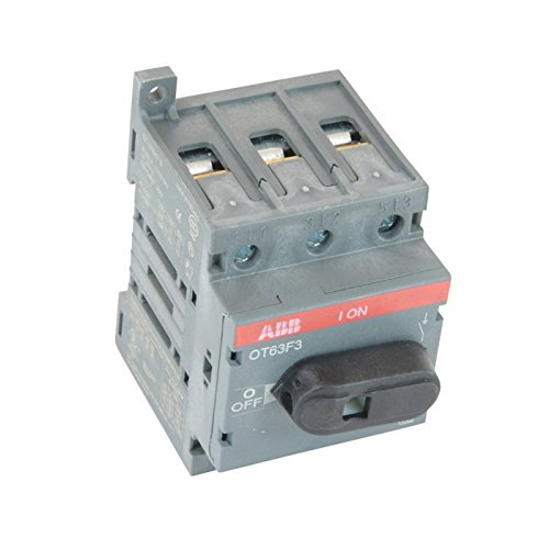 """Abb Ot63f3 Disconnect Non-Fusible Switch, 3P, 60A, Ul508"""