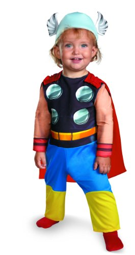 Disguise Marvel Super Hero Squad Thor Infant Costume
