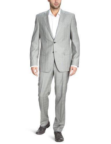 Otto Kern Men's 61250 / 83079 Two-Piece Suit Grey (240Schiefer) 48