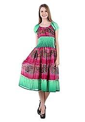 Selfiwear SW-528 Trendy Dress