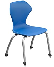 Marco Group 38101-16CR-ABL Apex Series Stack Chair with Chrome Frame, 16\